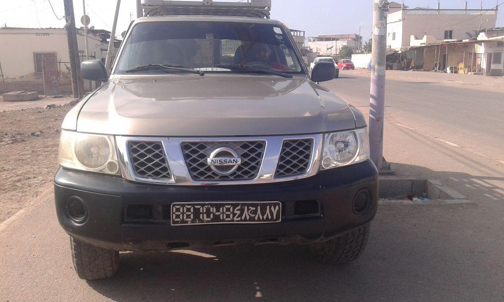 Nissan patrole model 2007