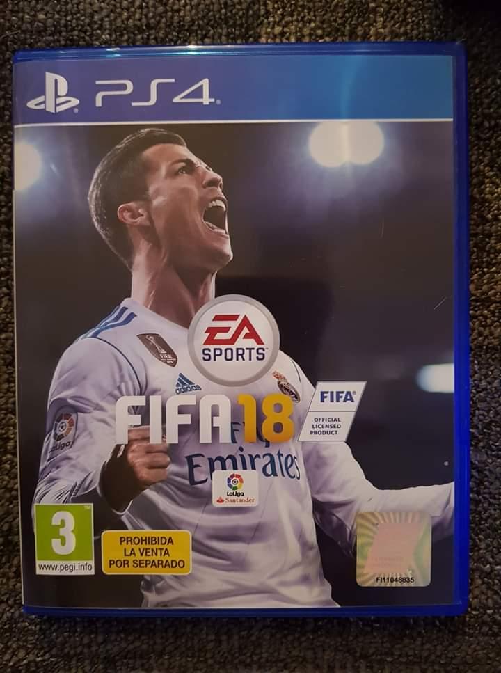 CD PS4 FIFA 18