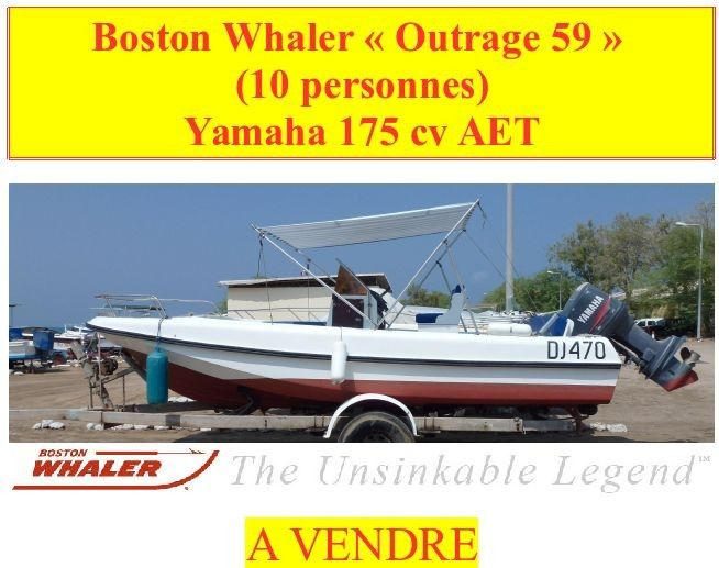 boston whaler - 10 pers