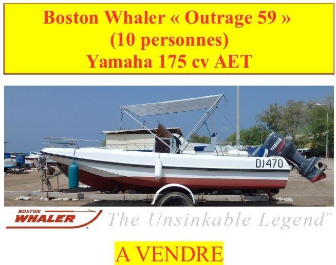 boston whaler - 10 pers