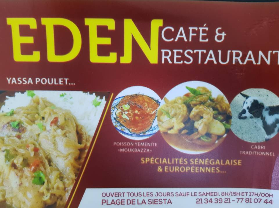 Ouverture EDEN Café & Restaurant