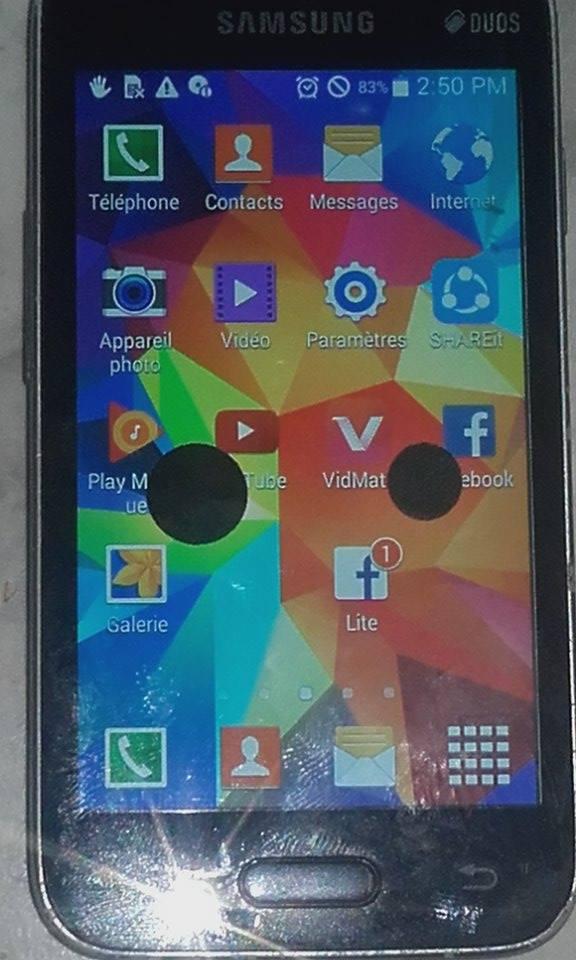 smartphone Samsung V plus