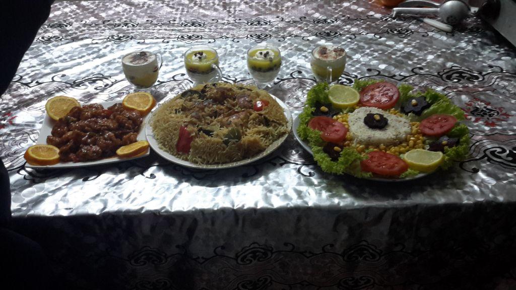 Cuisine chez Mahda