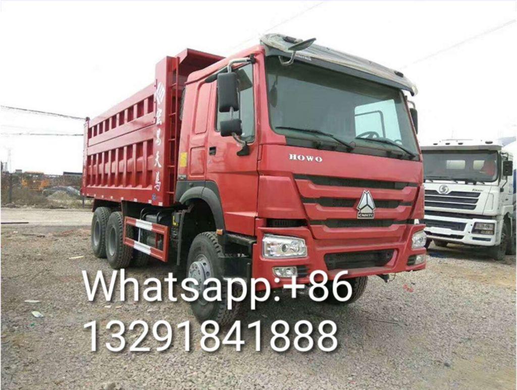Used Dump Truck HOWO 375 HP 5.8M Large Box