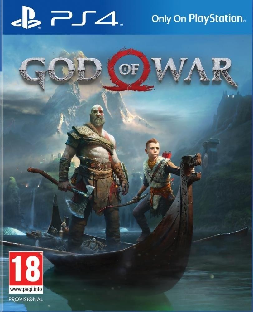 Jeu ps4 god of war