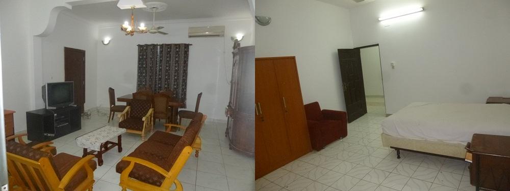 RENT Location Appartement F4 ou T4 meublé complet