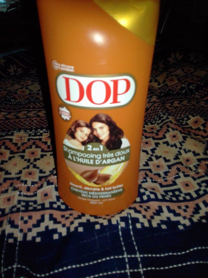 shampooing coco à l'huile d'argan
