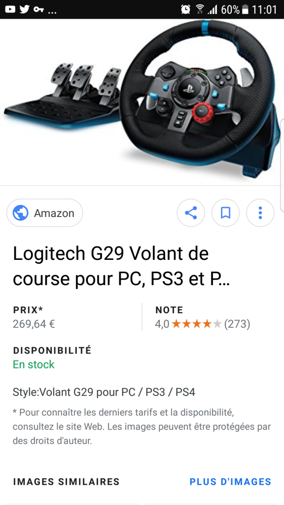 Volant Ps4 + un pedalier