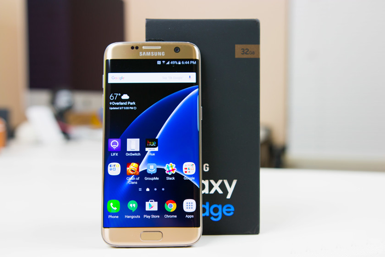 galaxy s7 edge . occasion comme neuf