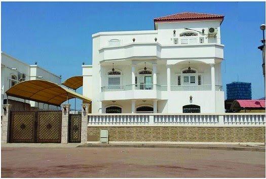 Location villa F6 triplex cité Al Gamil