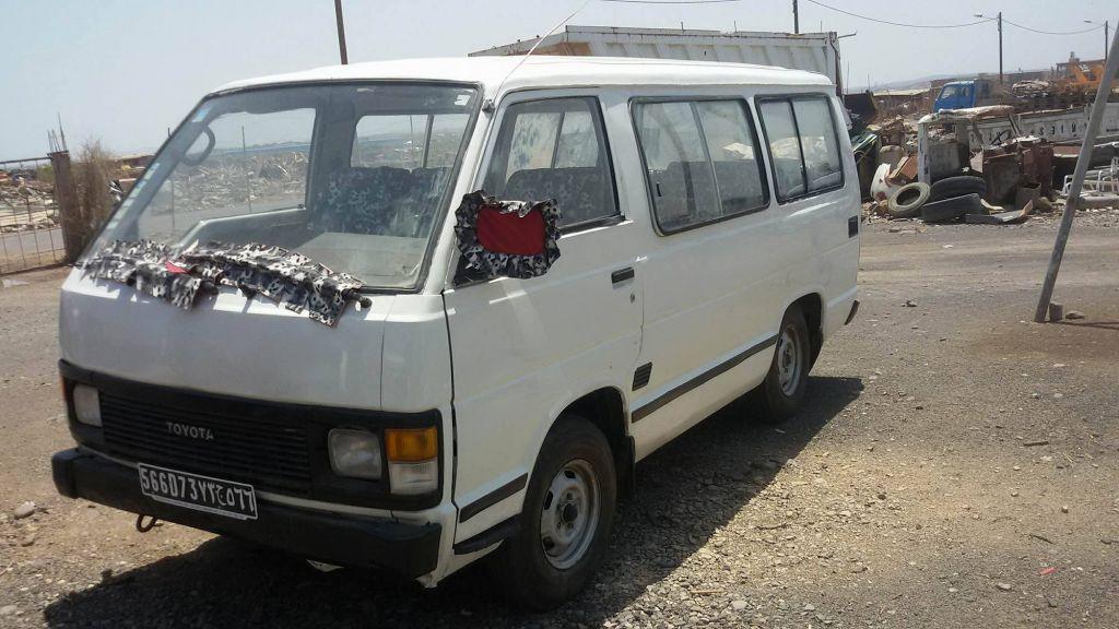 Mini bus Toyota Hiace