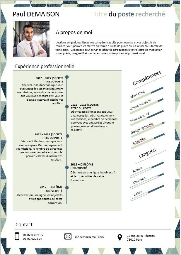 Kit emploi : modèles CV et lettres de motivation