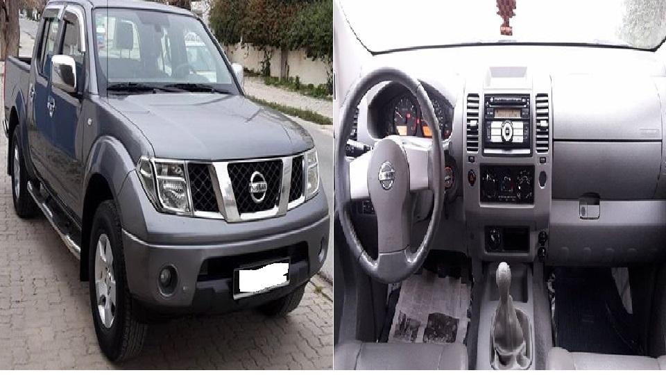 Nissan Navara manuelle à louer