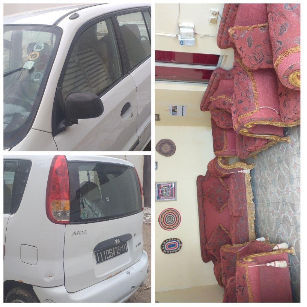 je vends ma voiture hyundai atos offre un salon en cadeau djibouti